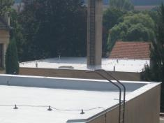 střecha ZŠ